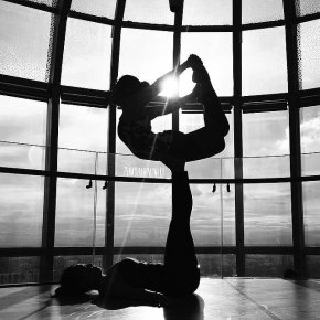 Black and White Yoga Gallery