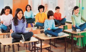 How Yoga could keep kids in school
